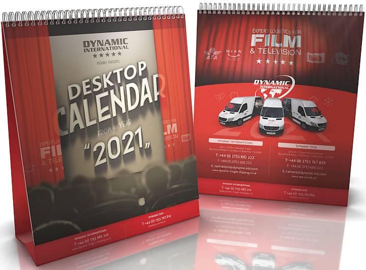 Dynamic freight film and TV calendar